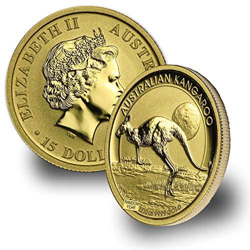 1987 - Present Australia Gold Kangaroo/Nugget (Random Year) 1/10oz .9999 Brilliant Uncirculated