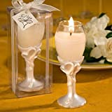 Champagne Flute Candle Wedding Favors, 72