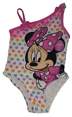 Fashion Toddler Girls Disney Minnie Mouse 1 Piece Swimsuit - 3T (Swimsuit Disney One Piece)