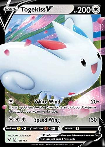 Pokemon Card Vivid Voltage 140//185 Togekiss V Ultra Rare