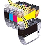 5 Inkfirst Compatible Ink Cartridges LC3013 XL LC3011 Replacement for Brother LC3013 XL LC3011 MFC-J497DW MFC-J690DW MFC-J895DW MFC-J491DW LC3013BK LC3013C LC3013M LC3013Y