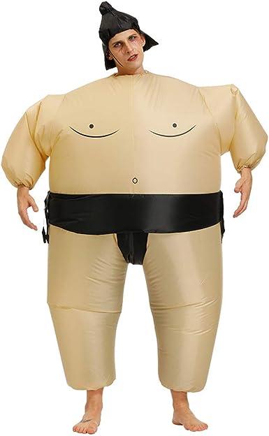 EqWong Disfraz Hinchable de Verano, Disfraz japonés de Sumo ...