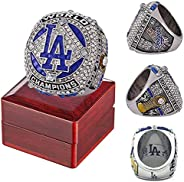 Dodgers 2020 LA 'World 'Series Championship Ring Official Version with Wooden Box Replica Alloy Champi