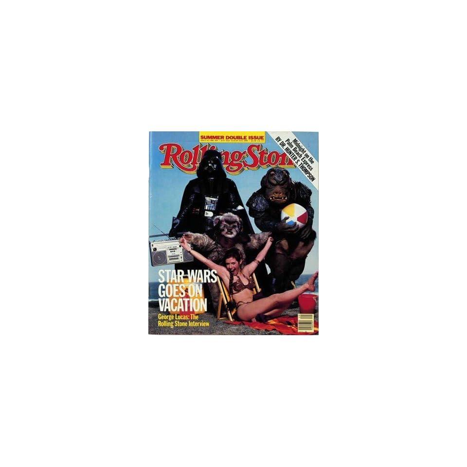 Cast Return Jedi 1983 Rolling Stone Cover Poster Aaron Rapoport (9.00 x 11.00)
