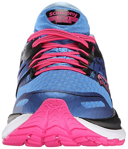 2 Running Women's Saucony ISO Pink Blue Shoes Triumph qT7wAOrd7t