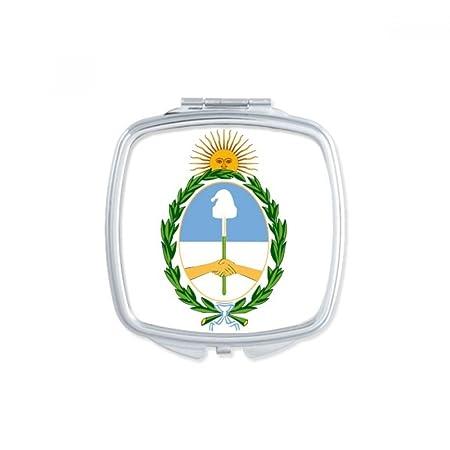 Diythinker Buenos Aires Argentina National Emblem Square Compact