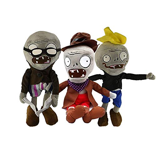 Maikerry Zombie Dolls-(Set of 3) Zombie Toys Halloween Decoration Zombie Plush Doll -