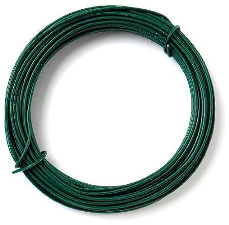 1.6mm x 30 Metres 97.5ft 14 Bulk Hardware BH00326 Galvanised Coated Garden Wire