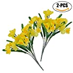 Funpa-Fake-Bouquet-2-Bunches-Artificial-Bouquet-Simulation-Daffodils-Faux-Decor-Bouquet-for-Mothers-Day