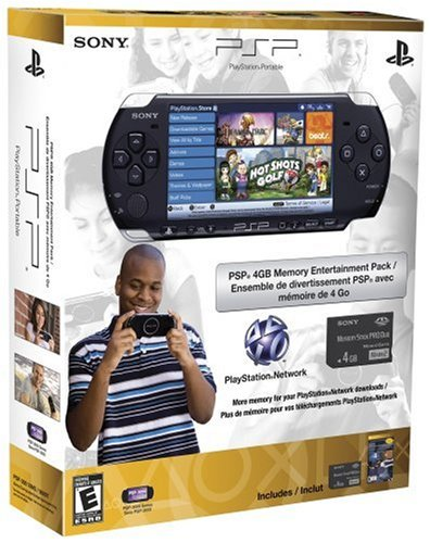 Sony Playstation Portable 98897 PSP Limited Edition 4GB Memory Entertainment Pack (Sony Psp 2001 Memory Stick)
