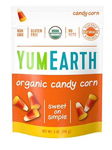 Corn Free Treats (YumEarth Organic Gluten Free Candy Corn Stand Up Pouch, 12 Count)
