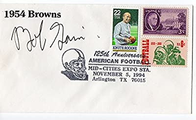 Bob Gain Signed FDC First Day Cover Autographed Kentucky CFBHOF Browns 24095