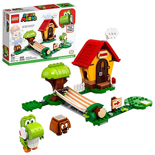 🥇 LEGO Super Mario Mario's House & Yoshi Expansion Set 71367 Building Kit