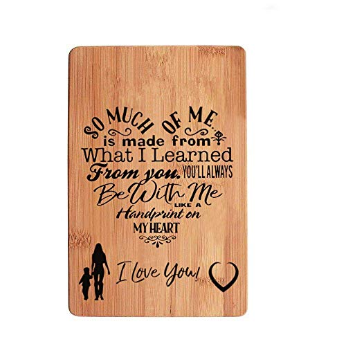 Mothers Gift - Engraving Cutting Board Mom Birthday Mother's Day Gift Christmas Gift Gifts For Mom Cutting Board For Mom
