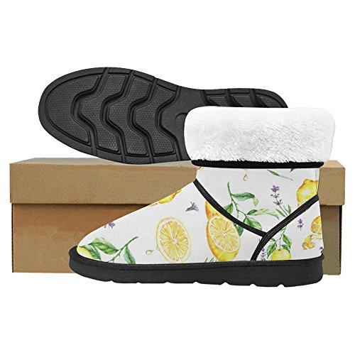 Botas De Nieve Para Mujer Interestprint Botas De Invierno Con Diseño Exclusivo Multi Multi 5