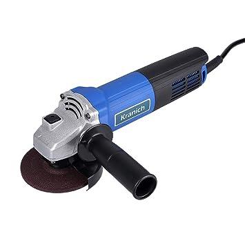 Mini amoladora angular eléctrica disco de 100mm sin bateria (100mm): Amazon.es: Bricolaje y herramientas