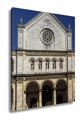 Ashley Canvas Catholic Parish And University Church Ludwigskirche In Munich G, Kitchen Bedroom Living Room Art, Color 30x24, AG6544609 by Ashley Canvas