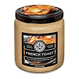 French Toast Scented Uncommon Scents Wacky Wax Candle, 7 ounce, Sugary Aroma, The Best Smelling Candle on Earth