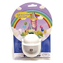Good Choice 424 Castle in the Sky Ceiling Projection LED Night Light, White