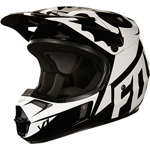 Helmet Small Race (2018 Fox Racing Youth V1 Race Helmet-Black-YM)