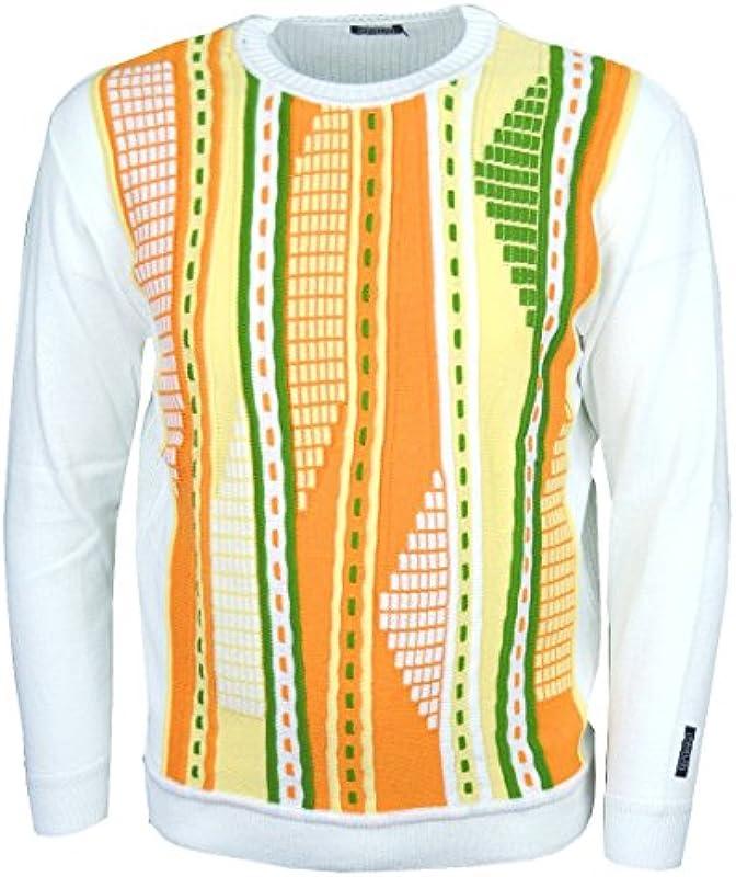 Paolo Deluxe męski sweter model Pablo w typowym stylu marki: Odzież