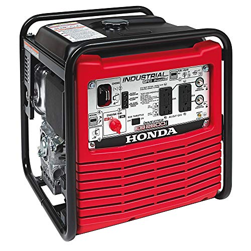 (Honda 2,800-Watt Gasoline Powered Portable Industrial Inverter Generator with Eco-Throttle and Oil Alert)