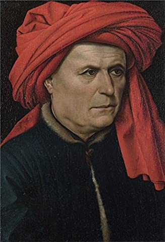 Oil Painting 'Robert Campin A Man ' Printing On Polyster Canvas , 12 X 18 Inch / 30 X 45 Cm ,the Best Bar Gallery Art And Home Artwork And Gifts Is This Vivid Art Decorative Prints On (Of Mice And Men Robert Blake)