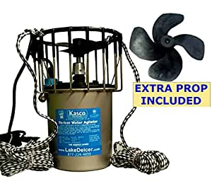 Kasco marine deicer 1 hp de icer with 50ft power cord for Kasco marine de icer motor