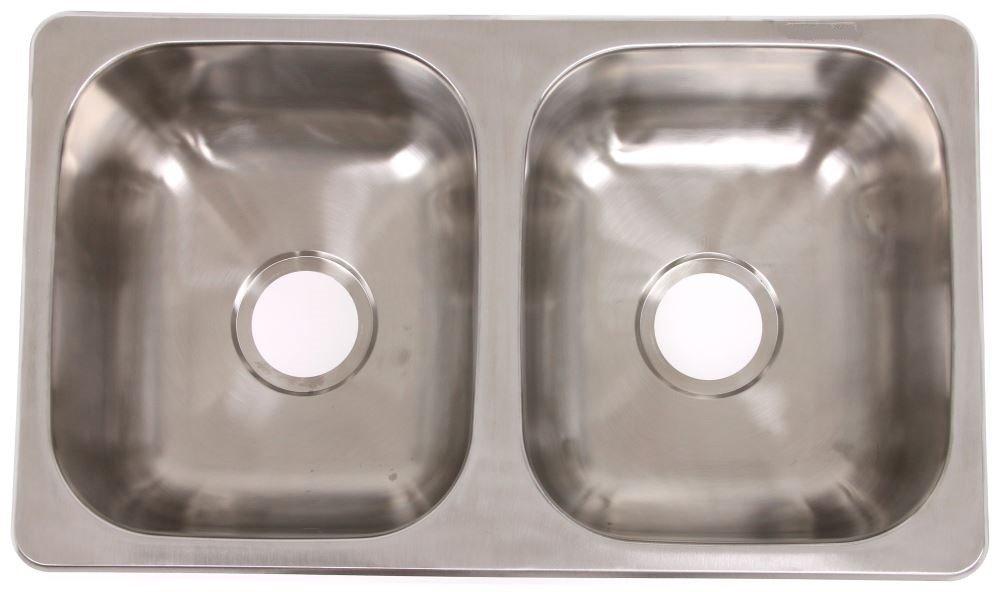 LaSalle Bristol 27'' x 16'' Double Bowl Sink - Stainless Steel