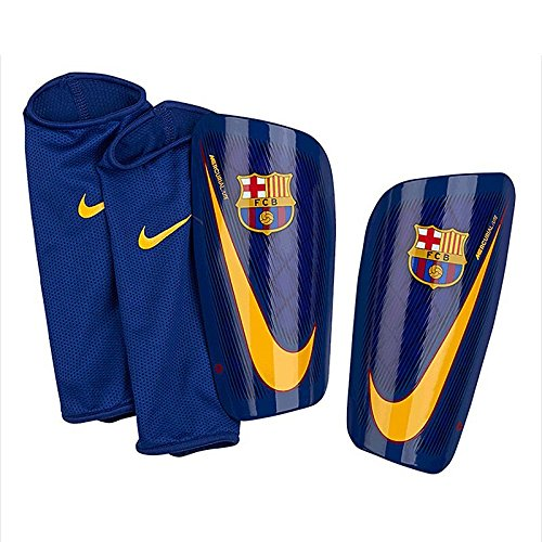 Nike 2017-2018 Barcelona Mercurial Lite Shinpads (Red-Blue)