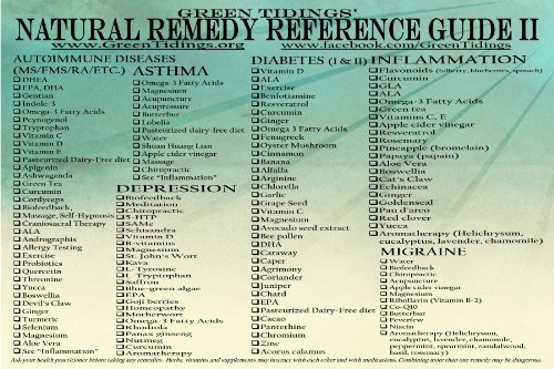 Natural Remedy Reference Guide II (Magnet)