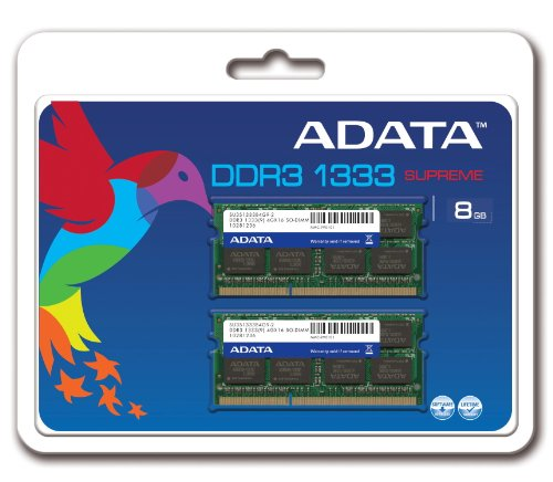 A-DATA ADATA Supreme 8 GB (2 x 4 GB) DDR3-1333 (PC-10666)...