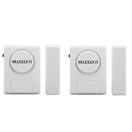Kit de alarma para ventana / puerta 100dB, [2 piezas ...