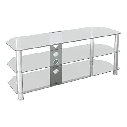 Amazon Com Avf Sdc1250cmcc A Classic Corner Glass Tv Stand Up To