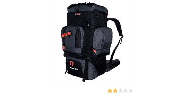 CUSCUS 120L Internal Frame Hiking Camp Backpack Travel Bag Gray Black   Amazon.ca  Sports   Outdoors 3039d7dd80f86