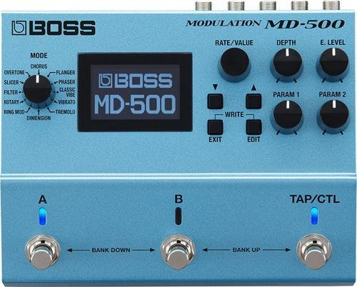 Boss MD-500 Ultra-Versatile Modulation Multi-Effects Pedal for Electric ()