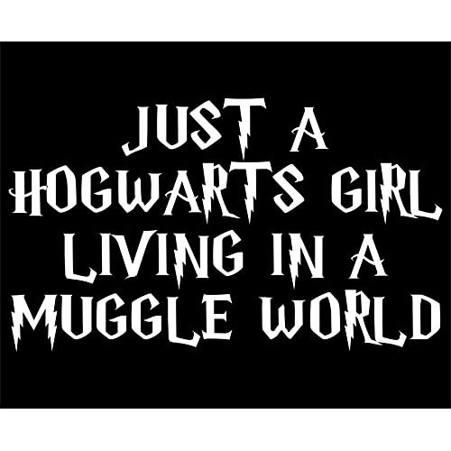 Hot Sale Sweet Tea Decals Just A Hogwarts Girl Living In A Muggle