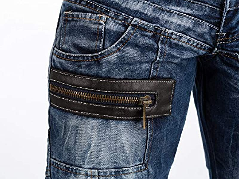 Kosmo Lupo KM012 jeansy męskie: Odzież
