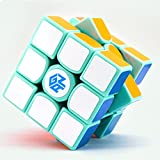 CuberSpeed GAN 356 AIR SPRING MINT LIMITED EDITION 3x3 Magic cube GRAND MASTER EDITION 3x3x3 GANS 356 AIR GREEN Speed cube Puzzle with free Gan cube bag