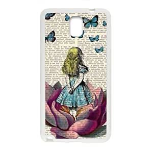 Lovely butterfly girl Cell Phone Case for Samsung Galaxy Note3