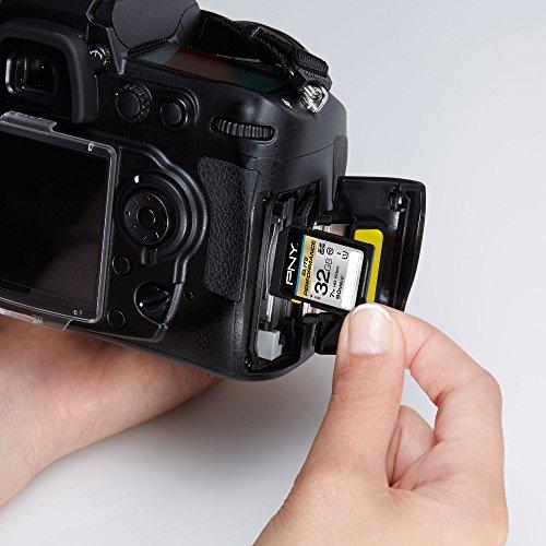 PNY Elite Performance 32GB High Speed SDHC Class 10 UHS-I, U1 Up to 90MB/sec Flash Card - P-SDH32U1H-GE