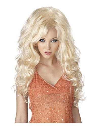 California Costumes Bombshell Wig, Blonde, One Size