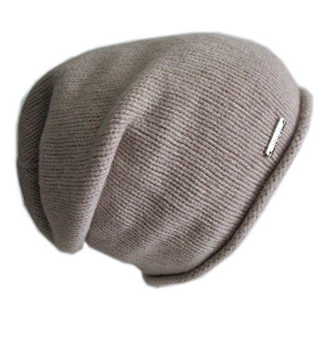 Frost Hats Italian Cashmere Slouchy Unisex Hat CSH-742 Beige