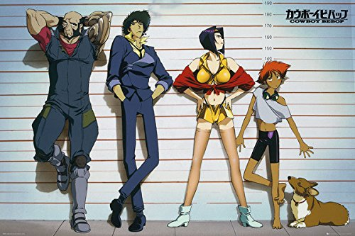 POSTER STOP ONLINE Cowboy Bebop - Anima/Manga TV Show Poster/Print (Line-Up) (Size: 36