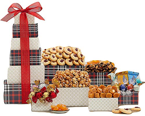 Remarkable Gift Co. Deluxe Sweets and Chocolate Ghirardelli Gift Tower