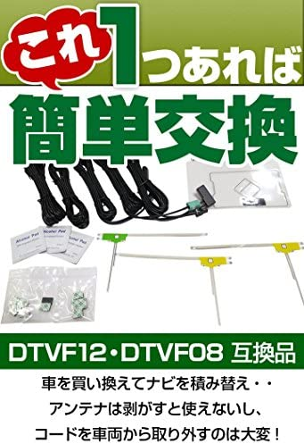 4×4地デジ/GPSアンテナキット イクリプス AVN669HD 対応