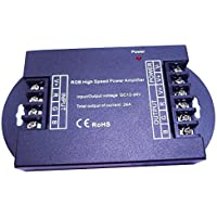 LEDENET RGB High Speed Power Amplifier 24A Data Signal Repeater 3CH Channels For 5050 LED Lights Strip by LEDENET