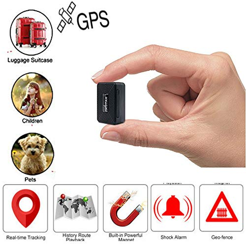 Winnes Mini GPS Tracker Anti Lost Anti Theft Tracker Device For Kids/Elderly/Wallet/Luggage