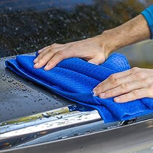 Viking 912400 Microfiber Waffle Weave Drying Towel - 9 Square Feet