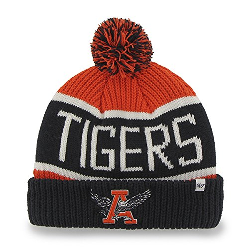 Toque Knit Hat (Auburn Tigers Navy Vintage